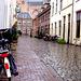 Rainy straat