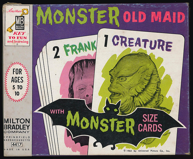 Monster Old Maid - box