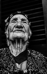 Old corsica woman