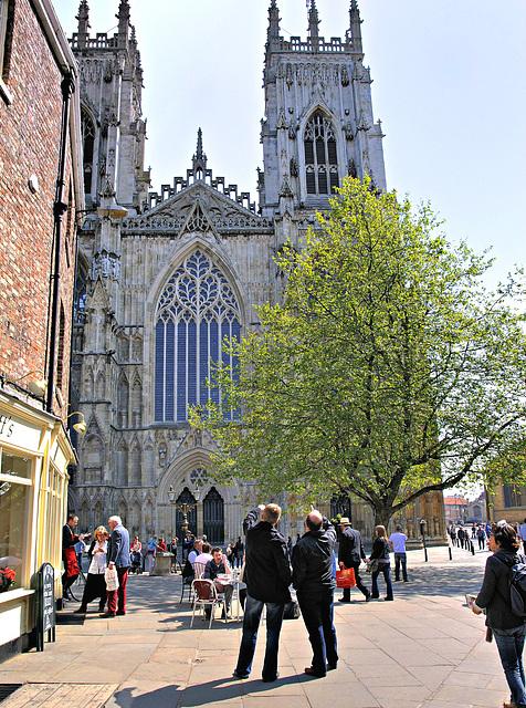 York Minster (West side).