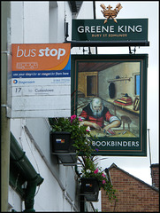 pub and bus stop