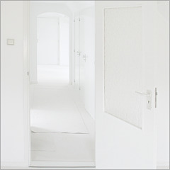 White rooms with lots of light