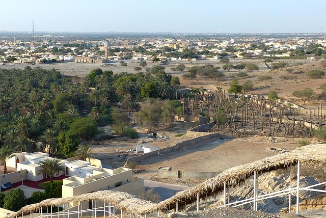 Blick nach Ras al Khaimah