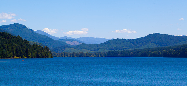 Dorena Reservoir at Cottage Grove, Oregon