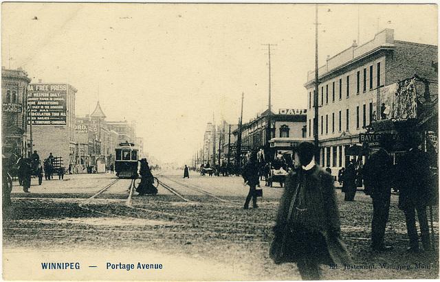Winnipeg - Portage Avenue