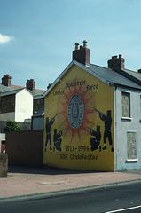 Political Mural Belfast