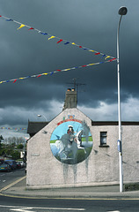 Political Mural Ballymena