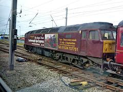 Steam on diesel
