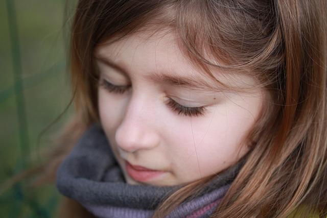 petite fille de mon ami