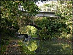 Wolvercote canal bridges