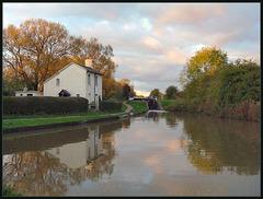 October evening at Duke's Lock