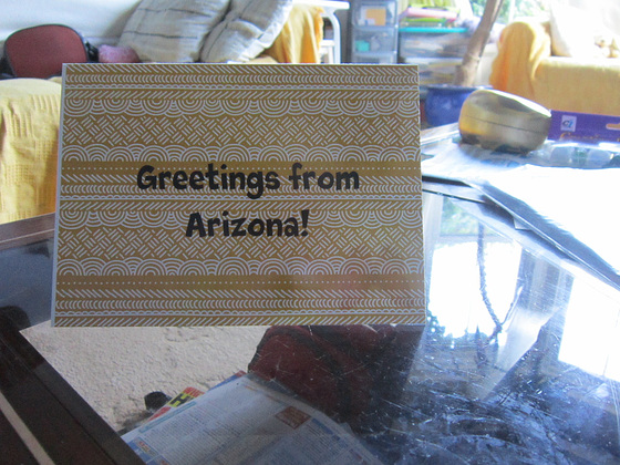 Card from Summer