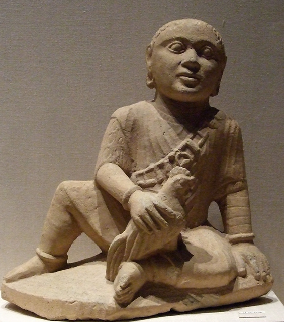 Limestone Temple Boy in the Metropolitan Museum of Art, February 2008