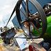 Dordt in Stoom 2014 – Threshing machine powered by steam