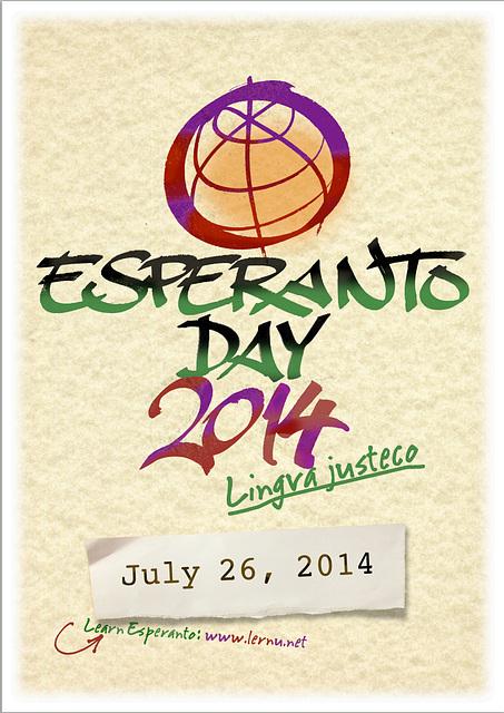 Esperanto-Day 2014 / Esperanto-Tago 2014