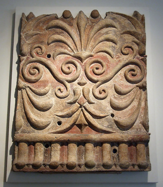 Ipernity Etruscan Terracotta Architectural Plaque With