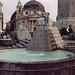 Fountain in Piazza del Popolo in Rome, 2003