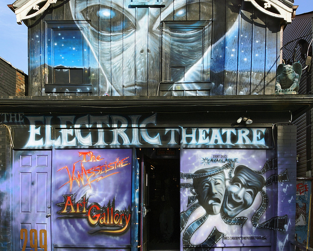 The Electric Theatre – Augusta Avenue, Toronto, Ontario