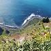 Madeira. Panorama vom Aussichtspunkt am Cabo Girao ca 580m über dem Meer. ©UdoSm
