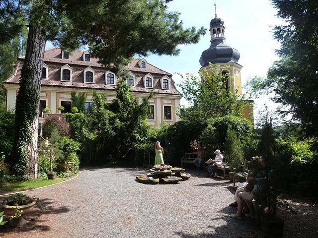 Ausstellung - ekspozicio - Hortensien im Barockschloß Zuschendorf bei Pirna - 2013
