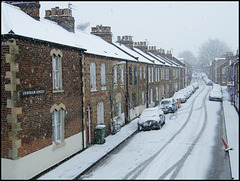 snow in Cranham Street