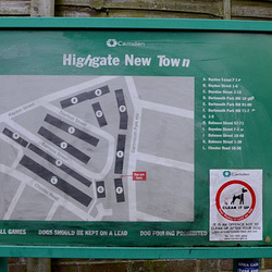 Highgate New Town plan