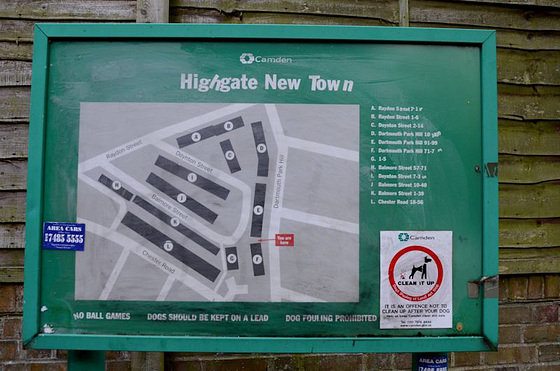 Highgate New Town plan