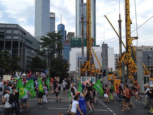 Anti-Prism Demo Frankfurt