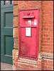 post box at Longwall Garage