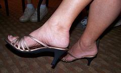 wife in callisto heels