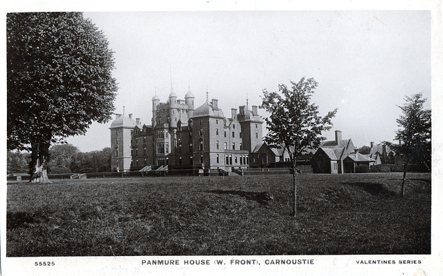 Panmure House, Angus, (Demolished 1955)