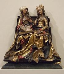St. Anne Teaching the Virgin to Read in the Philadelphia Museum of Art, August 2009