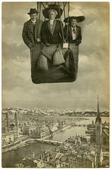 High over Zurich, Sept. 22, 1910