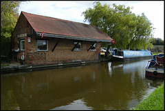 canalside shop at Aynho Wharf