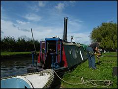 Tony Bryant's steam boat