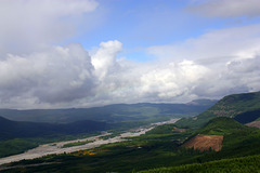 Mount St. Helens - the Toutle River Valley
