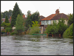 river at Canning Crescent