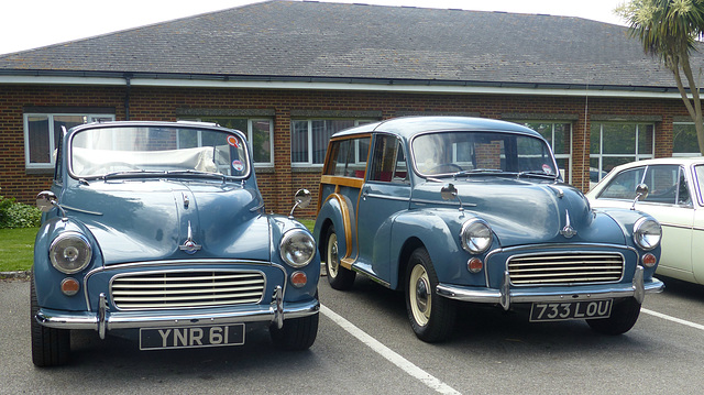 Morris Minors at Collingwood (3) - 31 May 2014