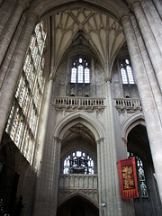 Winchester Cathedral - entry