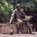 Statue of Hans Christian Andersen in Central Park, June 2006