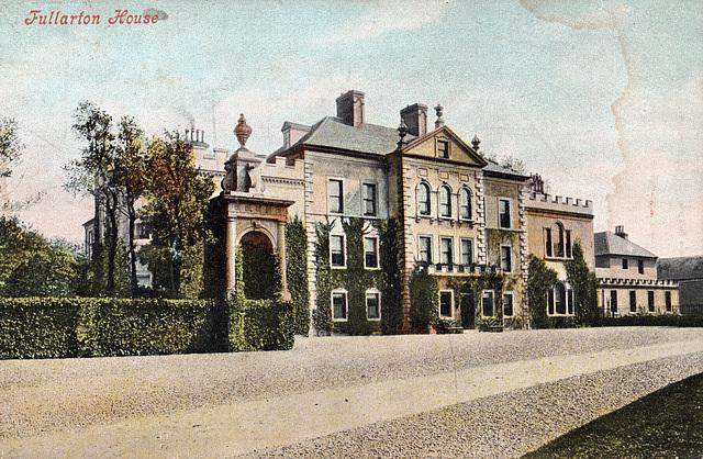 Fullarton House, Ayrshire (Demolished)