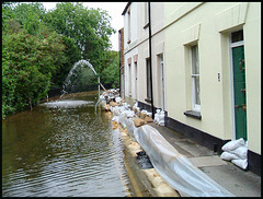 flooding on Osney Island