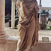 Headless Statue of a Draped Woman in the Baths of Diocletian in Rome, December 2003