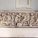 Relief Sarcophagus in the Baths of Diocletian in Rome, Dec. 2003