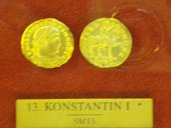 Solidus de Constantin Ier