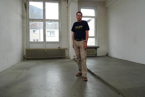 Selbst im Atelier das letzte Mal Juli 2013
