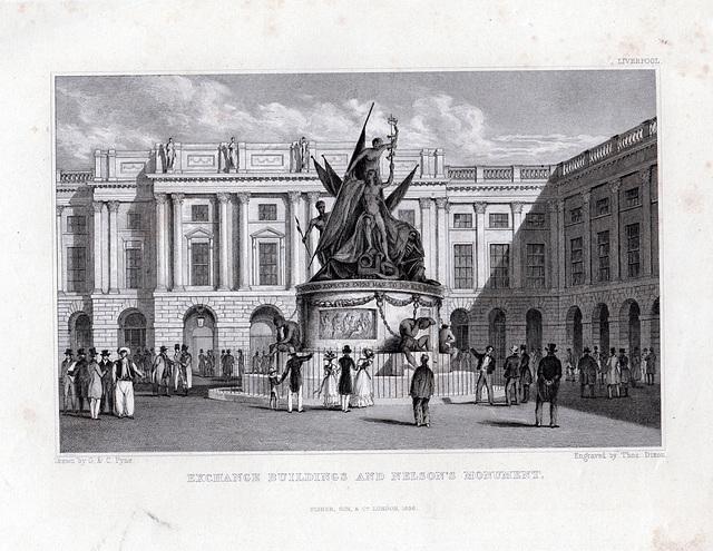 Royal Exchange, Exchange Flags, Liverpool (Demolished)