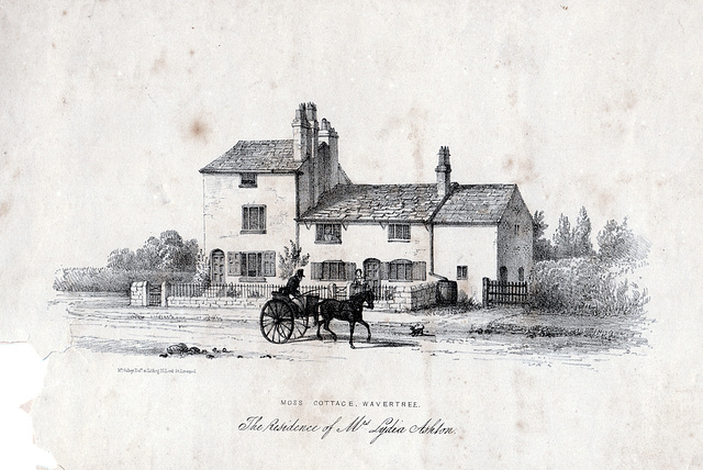 Moss Cottage, Wavertree, Liverpool (Demolished)