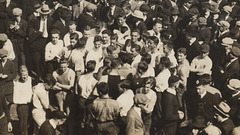 Annual Chapel Fight, University of Pennsylvania, 1915 (Detail)
