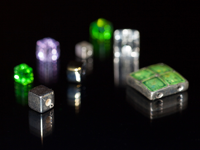 """Bokeh Thursday: """"Square"""" Featuring an Assortment of Tiny Beads"""